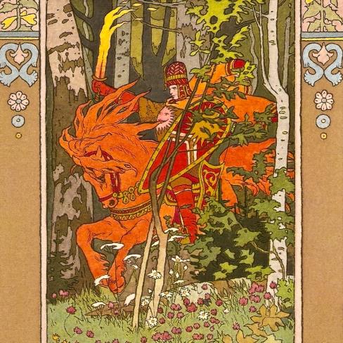 Ivan Bilibin - Vasilisa - Red Rider_sq